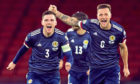 Scotland's Andy Robertson and Liam Cooper