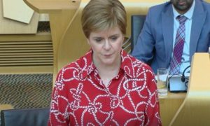 First Minister Nicola Sturgeon announced that Glasgow and Moray will remain in Level 3 as all other Scottish councils move to Level 2.