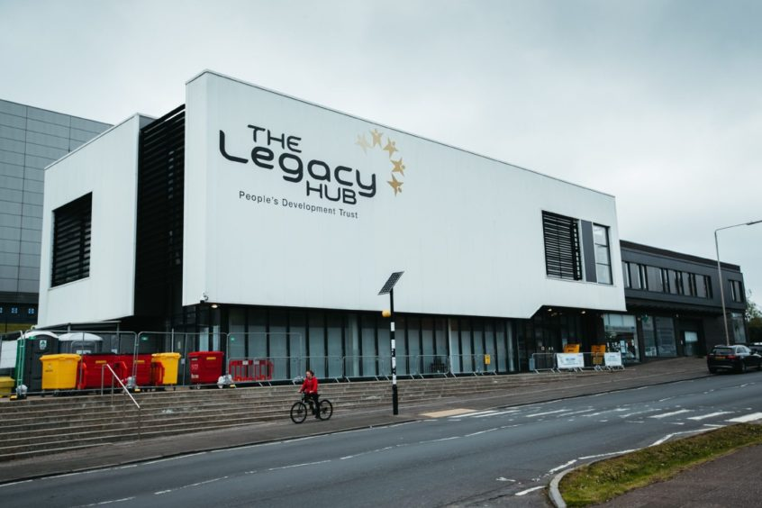 Sidelined: Legacy Hub in Dalmarnock passed back to Glasgow City Council for £1 after shutting in 2019