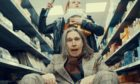 Justin Currie and Del Amitri perform their new single You Can't Go Back for their new video, a parody of their 1990s hit