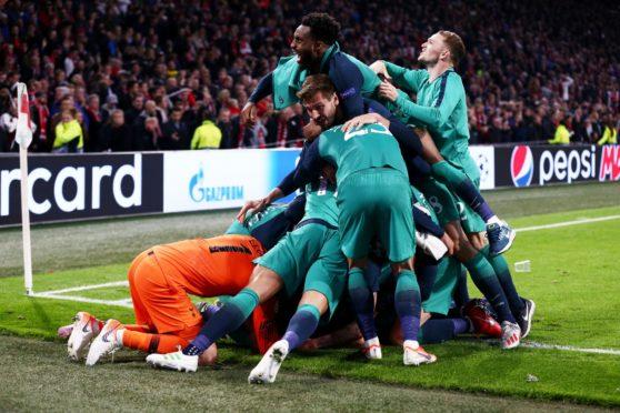 Away goals played a huge part in Spurs' win over Ajax