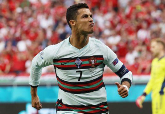 Ronaldo enjoys  scoring against Hungary.