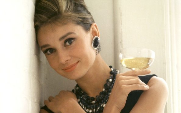 Audrey Hepburn as Holly Golightly in 1961 classic Breakfast At Tiffany's