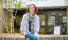 Jennifer Gall outside The Circle where she volunteers at the new Young Persons' Stroke Café.