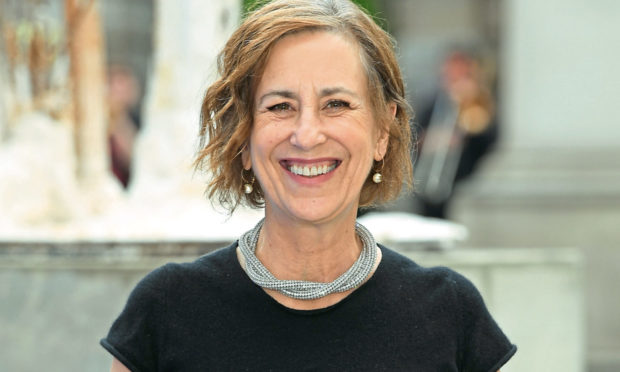 Presenter and broadcaster, Kirsty Wark.