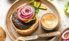 The tasty vegan burgers