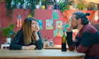WARNING: Embargoed for publication until 00:00:01 on 08/06/2021 - Programme Name: Together - TX: n/a - Episode: Together  (No. n/a) - Picture Shows:  She (SHARON HORGAN), He (JAMES MCAVOY) - (C) Arty Films Ltd - Photographer: Peter Mountain
