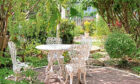 Garden furniture thefts are on the rise.