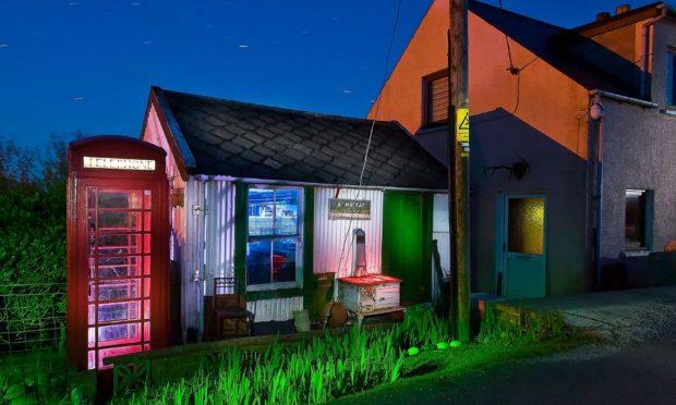 Amhuinnsuidhe Post Office, Isle of Harris