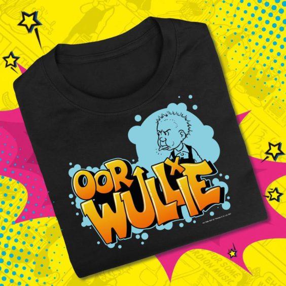 Oor Wullie Graffiti T-Shirt.