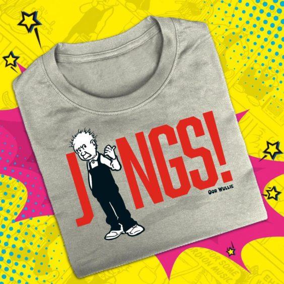 Oor Wullie Jings! T-Shirt.