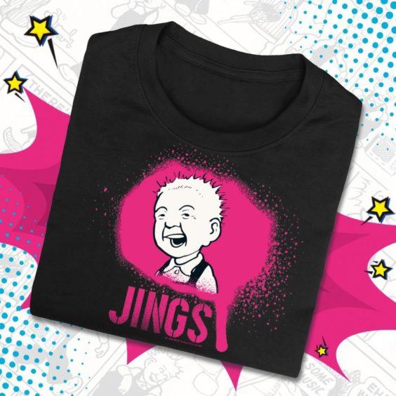 Jings Spray T-Shirt.