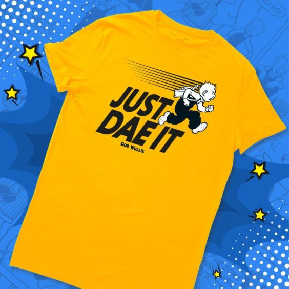 Just Dae it Oor Wullie T-Shirt.