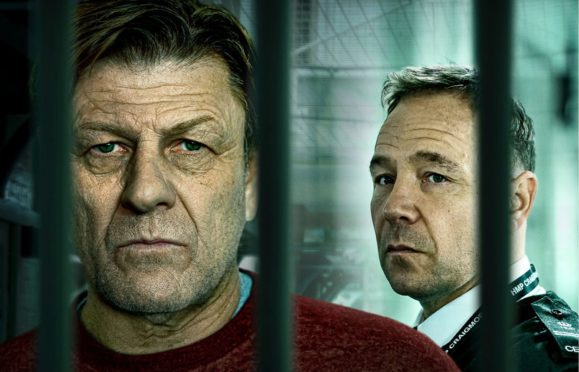 Sean Bean and Stephen Graham in Jimmy McGovern's prison drama Time