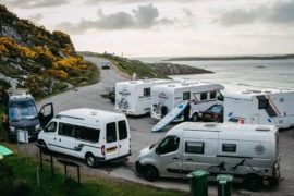 Rammed: All roads lead to Scotland as 6.4 million visitors book summer staycations