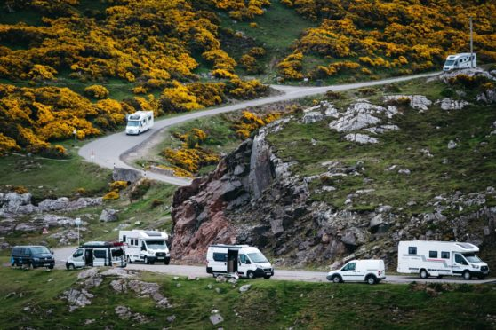 'We moved here for the quiet life but it is turning out to be anything but': Villagers struggle with influx of summer campervanners