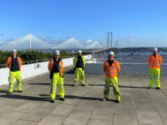 Digital highway: 'Once in a generation' engineering work turns Forth Road Bridge into fibre internet link