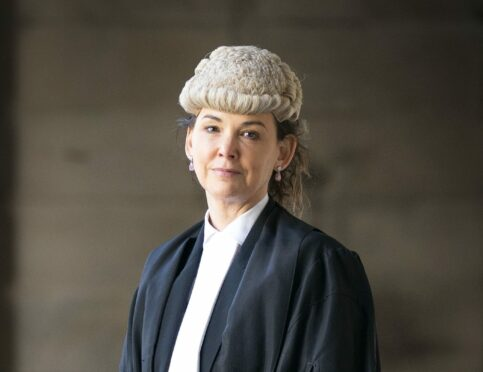 Lord Advocate Dorothy Bain QC after the swearing in ceremony at the Court of Session in Edinburgh.