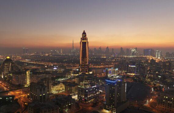 Sofitel Dubai. The Obelisk.