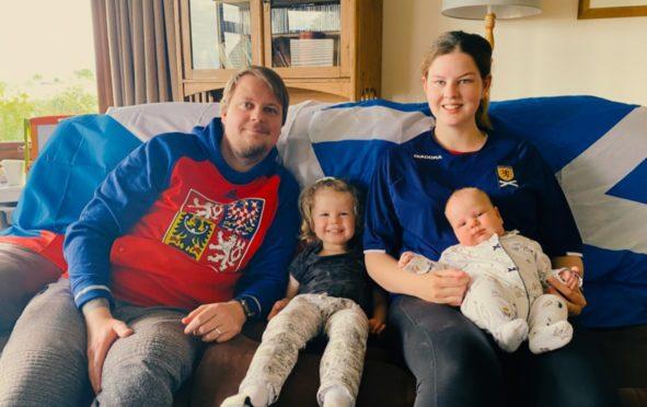 A perfect match but Czech-Scots couple are split on big match hopes