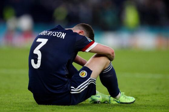 Scotland captain Andy Robertson after defeat to Croatia