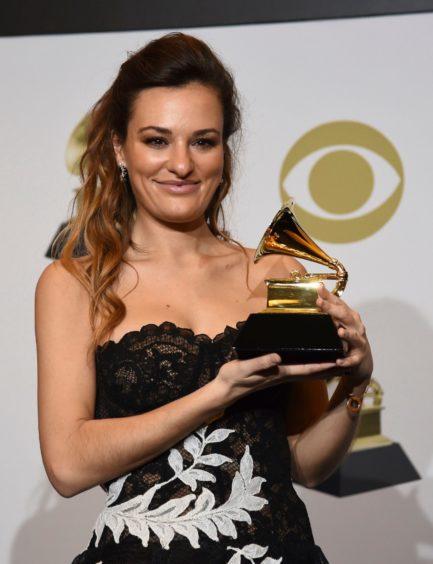 Nicola at the Grammys last year