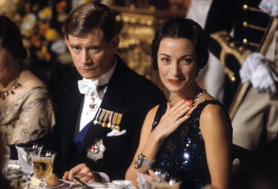 Anthony Andrews and Jane Seymour as the couple in 1988 TV drama, The Women He Loved