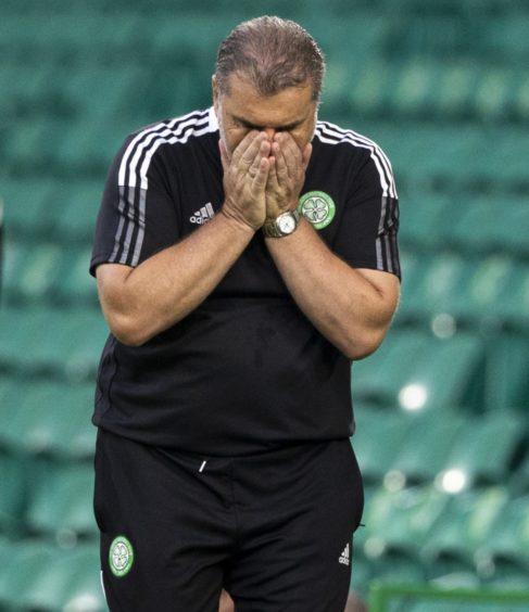 Ange Postecoglou feels the strain of Champions League football