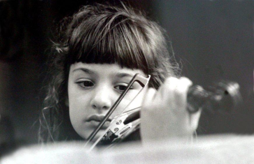 Nicola aged four