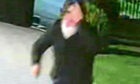 CCTV image of man at Peter Lawwell's home ahead of fire attack