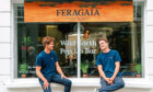 Jamie Wild or Bill Garnock, founders of Feragaia, an alcohol-free spirit made with seaweed.
