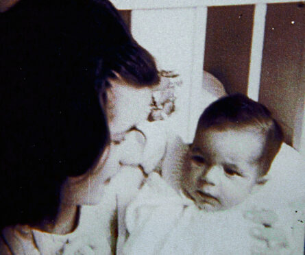 Marion McMillan, aged 17, with her baby  who was put into a forced adoption because she was single