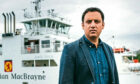 Scottish Labour leader Anas Sarwar in Largs where he met CalMac staff and managers