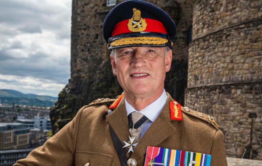Major General Alistair Bruce, Governor of Edinburgh Castle