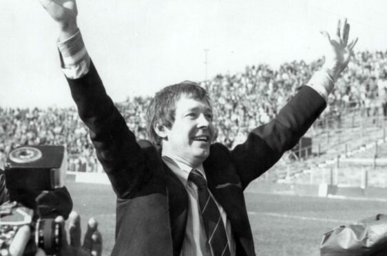 Alex Ferguson's dance across the pitch at Easter Road in 1980 after Aberdeen clinched the title with a 5-0 victory over Hibs will never be forgotten.