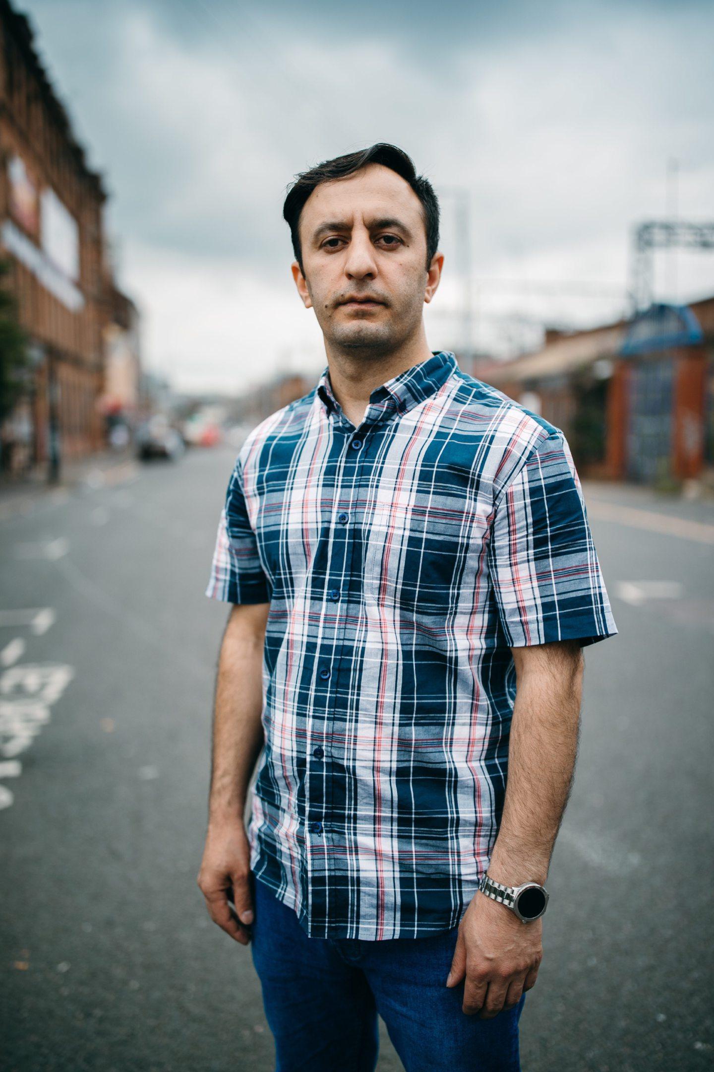 Former interpreter Ahmad Refa