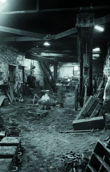 Thomson & Stewart Iron Foundry, Aberdeen, 1971