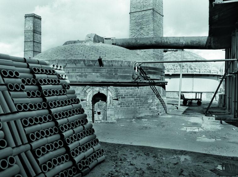 Inchcoonans Tile Works, Errol, Perthshire, 1977