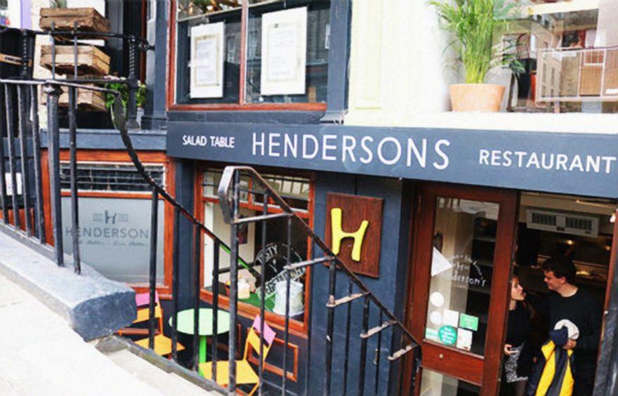 Hendersons in Hanover Street, Edinburgh
