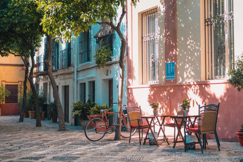 Dalt Vila streets, Ibiza