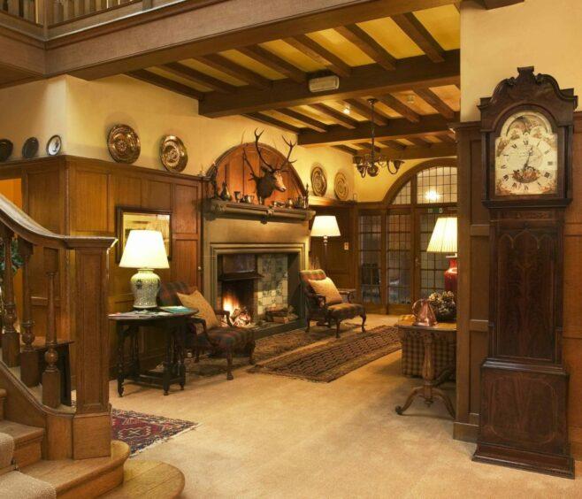 Kinloch House interior