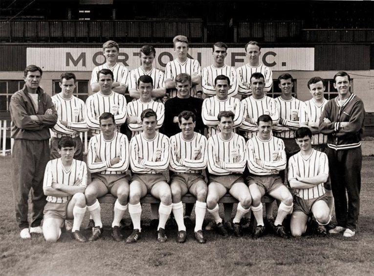 Morton FC in 1964.