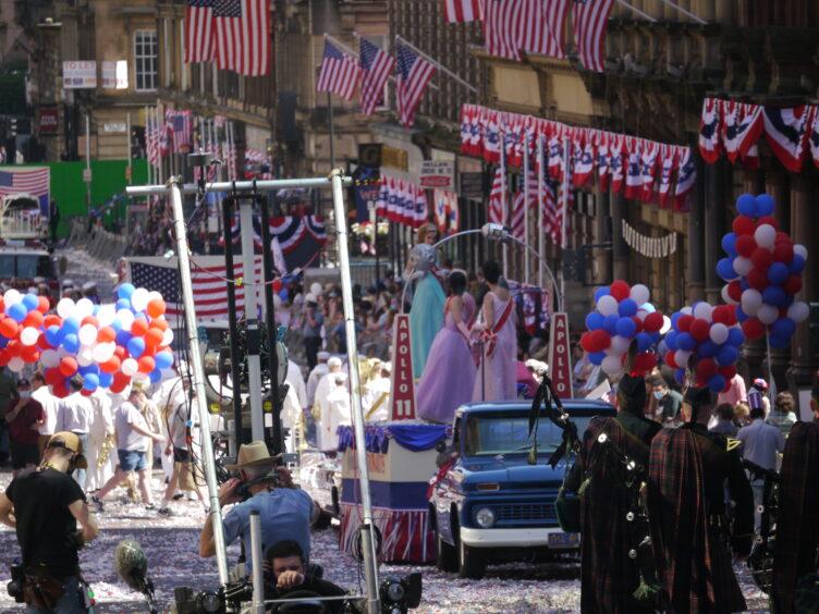 A closer look at the parade