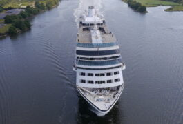 In pictures: Crowds gather to watch Azamara Quest cruise liner leaving Glasgow