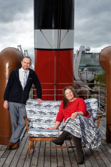 Paul Semple and Sarah Jane Hemsley
