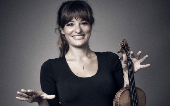 Classical music star Nicola Benedetti