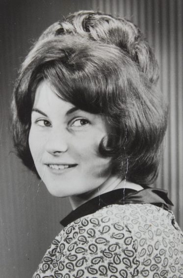 A young Marion McMillan