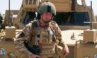 Lance Corporal Stephen Monkhouse in Afghanistan