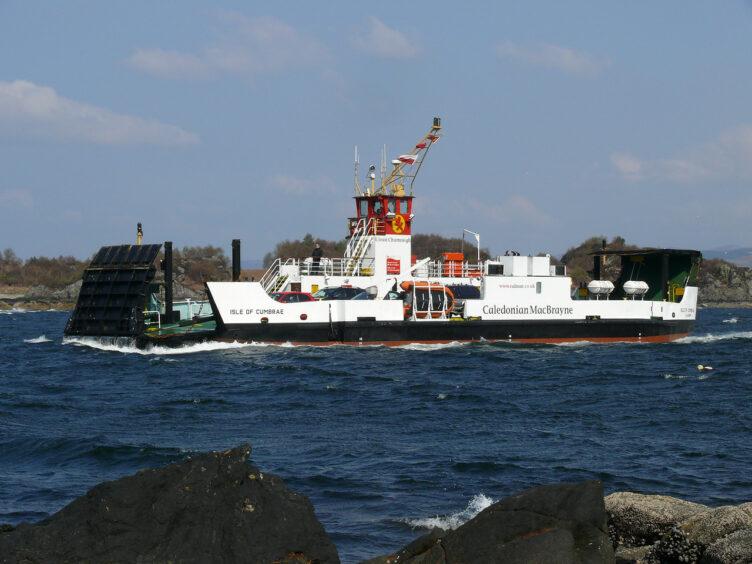 CalMac's Isle of Cumbrae ferry