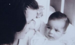 Marion McMillan, left, was forced to give up her baby boy in 1966